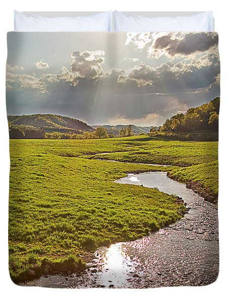 Coulee View Duvet Cover