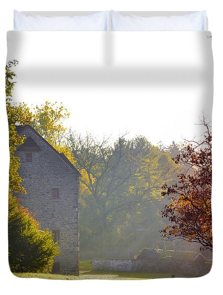 Country Autumn Duvet Cover by Bill Cannon