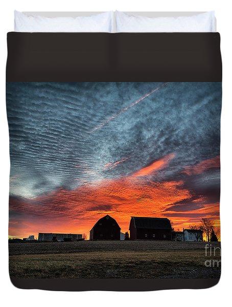 Country Barns Sunrise Duvet Cover