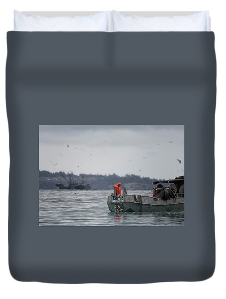 Country Club Duvet Cover by Randy Hall