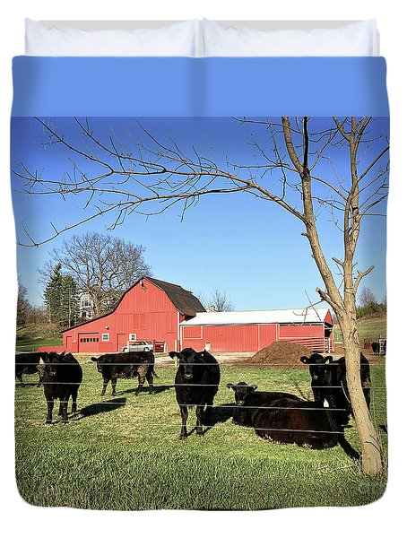 Country Cows Duvet Cover