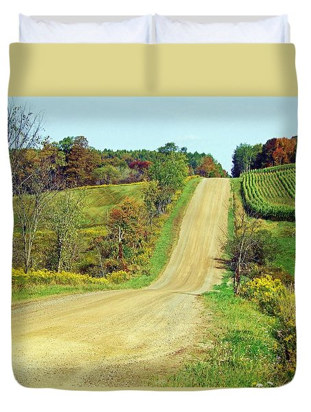 Country Days Duvet Cover