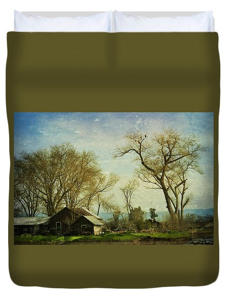 Country Home  Duvet Cover by Pamela Patch