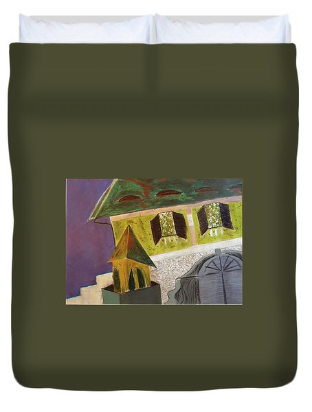 Country House Duvet Cover by Manuela Constantin