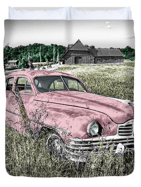 Country Life Duvet Cover by Ericamaxine Price