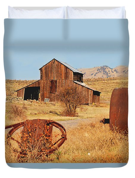 Country Life Duvet Cover by Pamela Patch