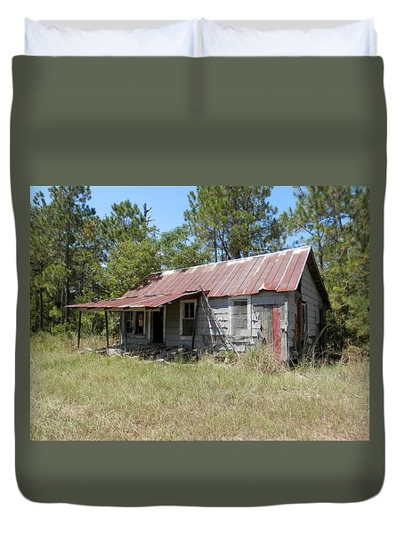 Country Living Gone To The Dawgs Duvet Cover by Belinda Lee