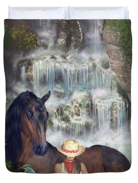 Country Memories 1 Duvet Cover