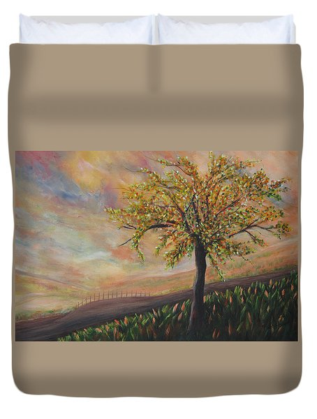 Country Morn Duvet Cover