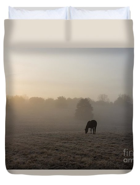 Country Morning Duvet Cover