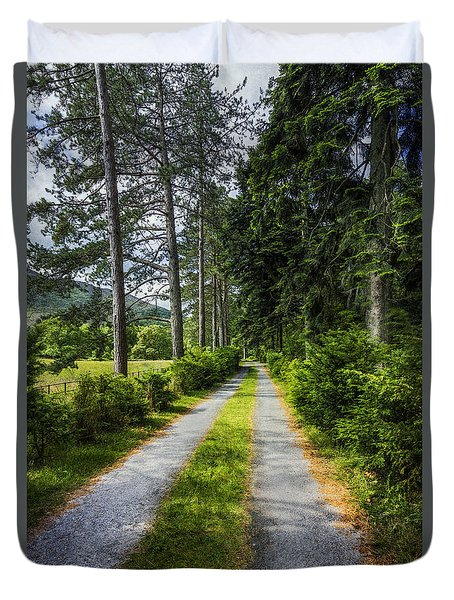 Country Path Walks Duvet Cover