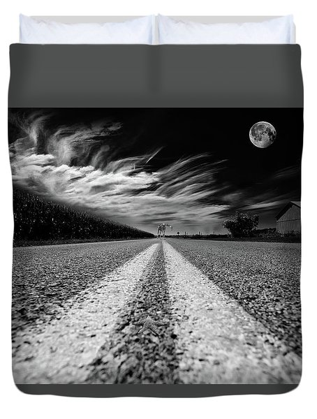 Country Road 51 Duvet Cover