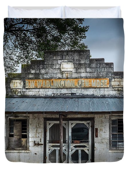 Country Store In The Mississippi Delta Duvet Cover