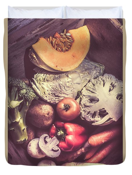 Country Style Foods Duvet Cover by Jorgo Photography - Wall Art Gallery