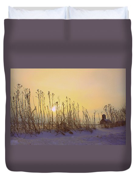 Country Sunrise Duvet Cover by Inspired Arts