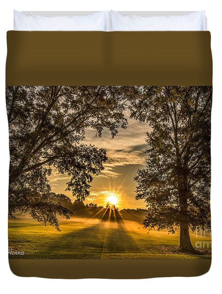 Country Time Rise Duvet Cover