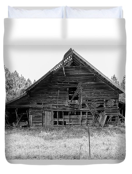 Country Treasure Bw Duvet Cover