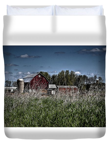 Duvet Cover featuring the photograph Country Treasures by Deborah Klubertanz