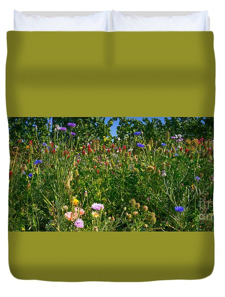 Country Wildflowers IIi Duvet Cover