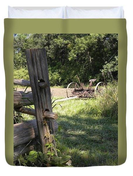 Country Work Duvet Cover