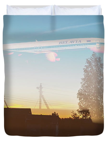 Countryside Boeing Duvet Cover