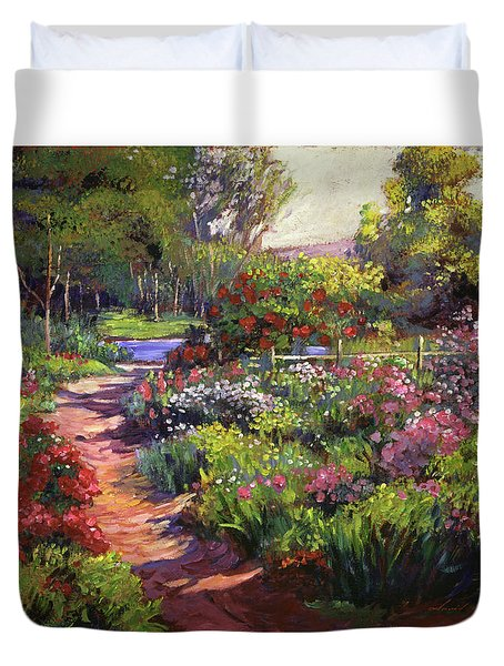 Countryside Gardens Duvet Cover