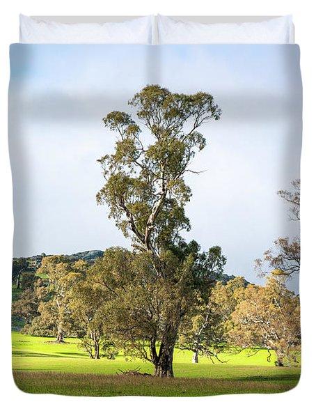 Countryside Victoria Australia Duvet Cover