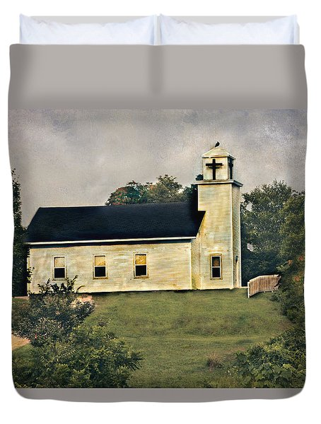 County Chruch Duvet Cover