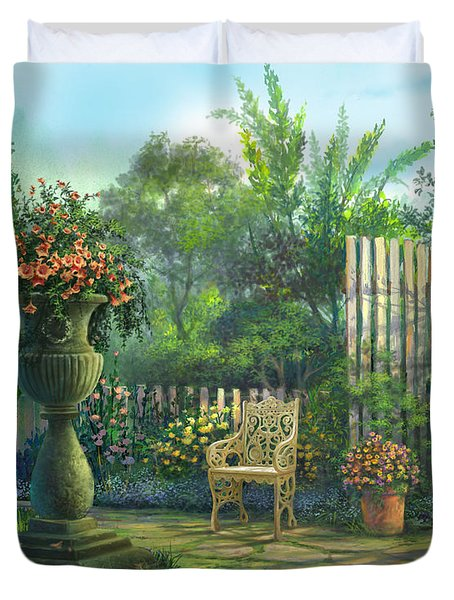 Country Contrasts Duvet Cover