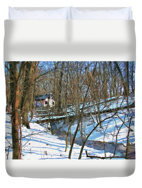 County Field House Duvet Cover
