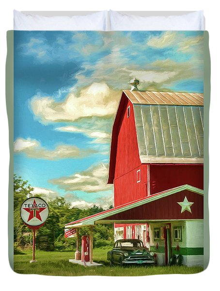 County G Classic Station Duvet Cover by Trey Foerster