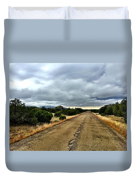 County Road Duvet Cover