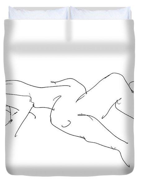 Couples Erotic Art 4 Duvet Cover