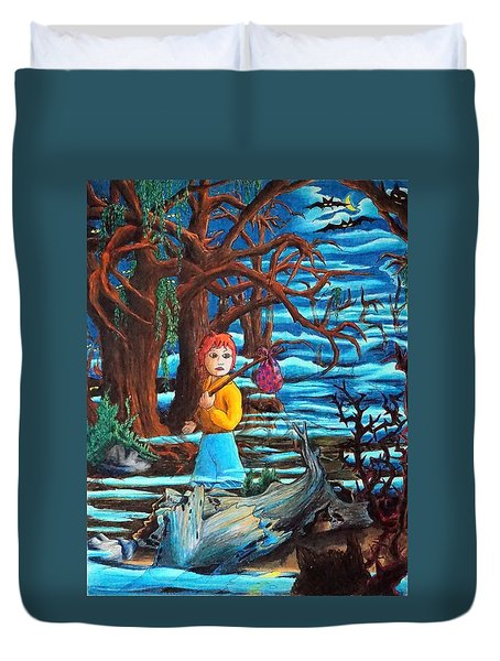 Courage ... Duvet Cover