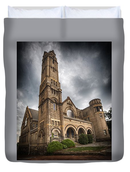 Court Street Umc Lynchburg Duvet Cover