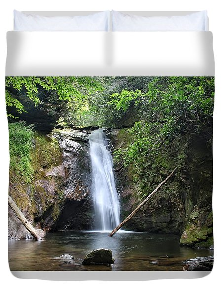 Courthouse Falls Duvet Cover