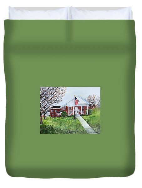 Courthouse Duvet Cover