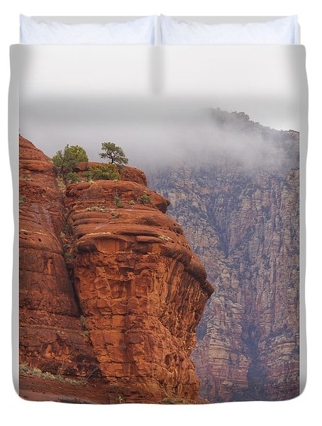 Duvet Cover featuring the photograph Courthouse by Tom Kelly