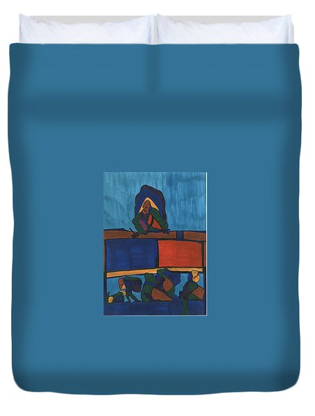 Courtroom  Duvet Cover by Darrell Black