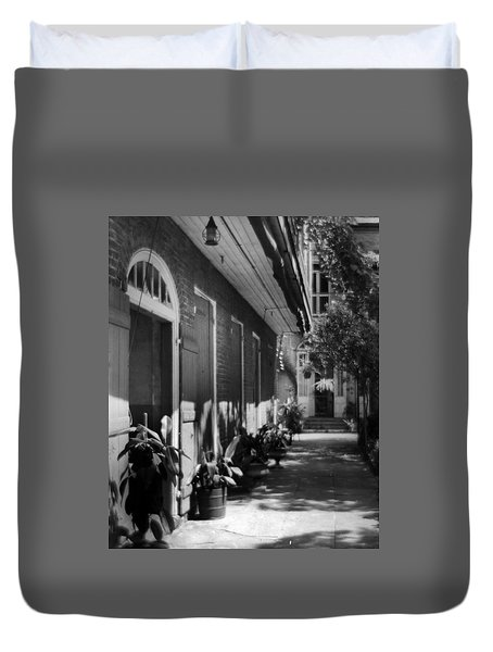 Courtyard Duvet Cover