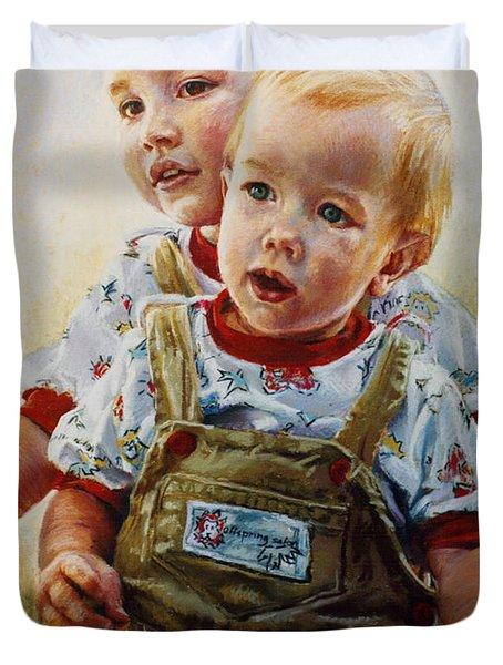 Cousins Duvet Cover