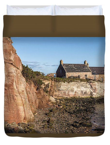 Cove Harbour Duvet Cover