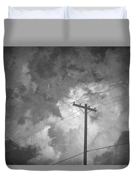 Cover Twice Duvet Cover by Mark Ross