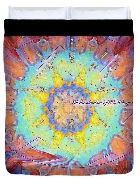 Psalm 17 Duvet Cover