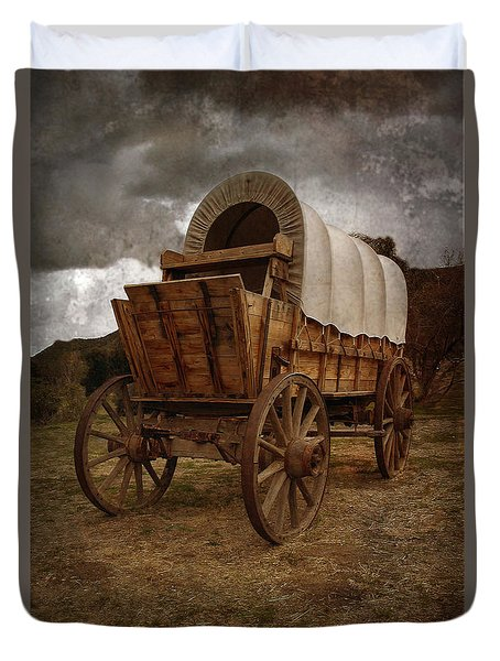 Covered Wagon 1 Duvet Cover