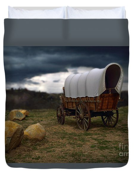 Covered Wagon 2 Duvet Cover