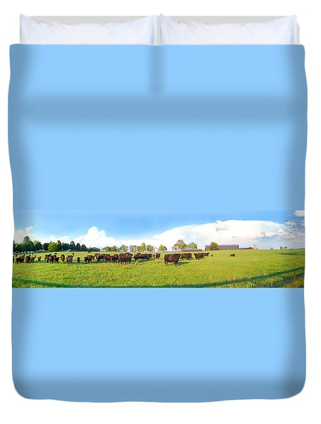 Cow Expance Duvet Cover