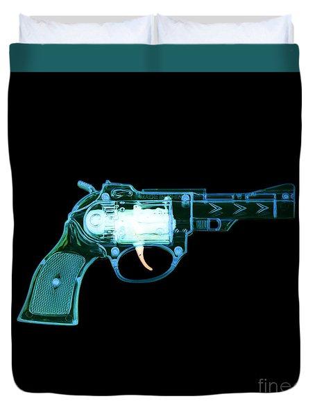 Cowboy Gun 001 Duvet Cover