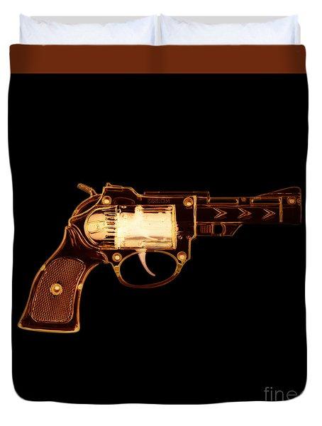 Cowboy Gun 002 Duvet Cover