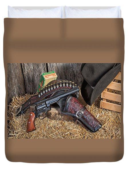 Cowboy Gunbelt Duvet Cover